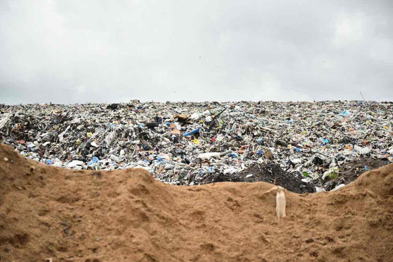 полигон для мусора картинка заменой